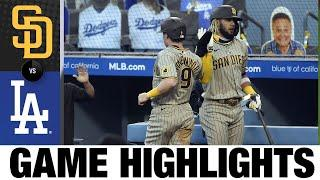 Machado's slam fuels Padres' win | Padres-Dodgers Game Highlights 8/11/20