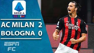 Zlatan Ibrahimovic at it again! AC Milan ride Ibra brace to opening win | ESPN FC Serie A Highlights