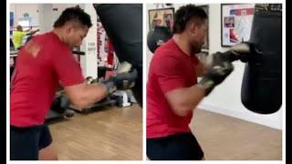 UNLEASH THE JUGGERNAUT! - JOE JOYCE PUTS EXPLOSIVE COMBO'S TOGETHER ON THE BAG WITH DUBOIS IN SIGHT