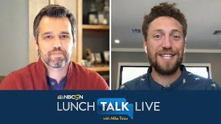 Giants' Hunter Pence discusses MLB return plan (FULL INTERVIEW) | Lunch Talk Live | NBC Sports