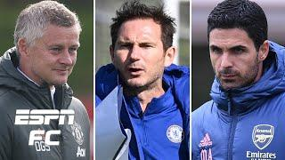 Who will win the Premier League first: Solskjaer, Lampard or Arteta?   ESPN FC Extra Time