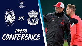 Liverpool's Champions League press conference | Atalanta