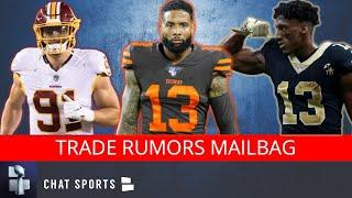 NFL Rumors Mailbag: Ryan Kerrigan Trade? Odell Beckham Trade? Michael Thomas Injury? Week 2 Previews