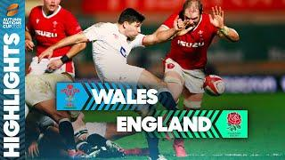 Wales 13-24 England | Slade & Vunipola Tries Send England into Final | Autumn Nations Cup Highlights