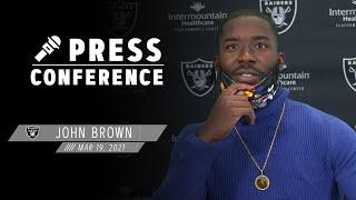 John Brown Discusses His Fit in the Offense, Henry Ruggs, Derek Carr, Raider Nation & More | Raiders