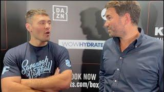 SHOCKER! -EDDIE HEARN REVEALS DAVE ALLEN FIGHT IN DOUBT AFTER LOVEJOY CONTRACT DISPUTE WITH DON KING