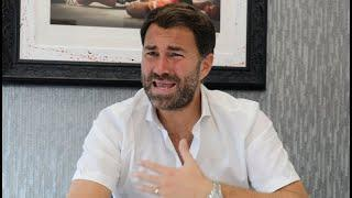'ITS F***** LIFE' -EDDIE HEARN RAW ON POVETKIN-WHYTE 2, CANELO/DAZN, AJ-FURY CONTRACTS, WILDER QUIET