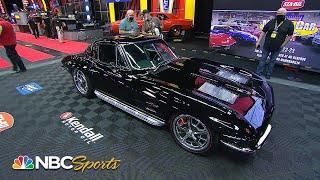 Mecum Auctions: 1963 Corvette Split-Window Coupe Resto sells for $350,000 | Motorsports on NBC