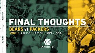 Packers vs. Bears | Final Thoughts