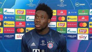 """We wanted to show we're defending the UCL for a reason."" Alphonso Davies on emphatic Bayern win"