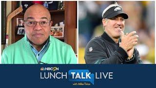 Eagles' Doug Pederson on picking Jalen Reagor, Jalen Hurts' role (FULL INTERVIEW) | NBC Sports
