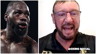 """I HEARD DEONTAY WILDER HAS SPLIT WITH SHELLY FINKEL!"" - KEVIN BARRY ON JOSHUA-FURY & WILDER-FURY 3"