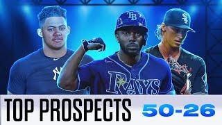 MLB's Top 100 Prospects for 2021! (50-26) | Randy Arozarena, Jasson Dominguez and more!