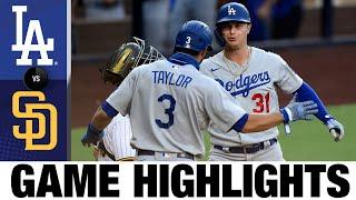 Dodgers win on AMAZING throw from Chris Taylor to end game | Dodgers-Padres Game Highlights 8/5/20
