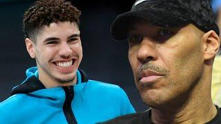 LaVar Ball Demands The Hornets Start LaMelo Ball, Says He Doesn't Need To Be Sitting On The Bench