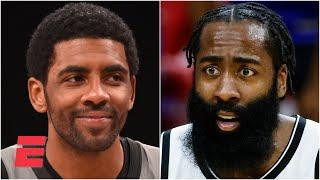Max reacts to Kyrie Irving telling James Harden to play point guard: 'He is right!'