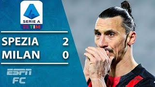 UPSET IN SERIE A! Milan stunned by Spezia as title race takes another turn | ESPN FC Highlights
