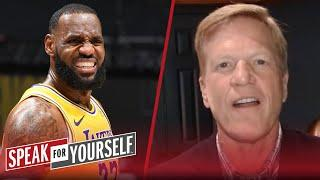 LeBron can carry the Lakers without AD, but not to a NBA Title — Bucher | NBA | SPEAK FOR YOURSELF
