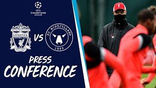 Liverpool's Champions League press conference | FC Midtjylland