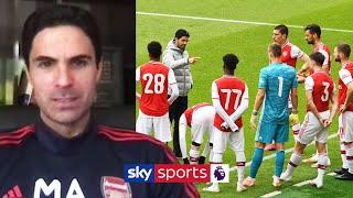 Mikel Arteta speaks out on Arsenal's defeat to Brentford, Premier League return & Black Lives Matter