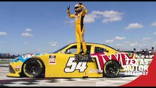 Kyle Busch takes checkered flag at Texas; car later disqualified  | NASCAR Xfinity Series