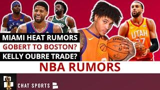 NBA Trade Rumors On Paul George To The Heat, Gobert To The Celtics & Kelly Oubre To The Warriors