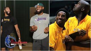 NBA Countdown compares the LeBron-AD Lakers to the Shaq-Kobe Lakers