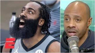 JWill reacts to James Harden's return to Houston in the Nets' win | KJZ