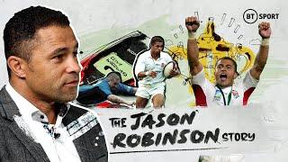 Jason Robinson's story | Overcoming the odds to become a World Cup winner and England rugby legend