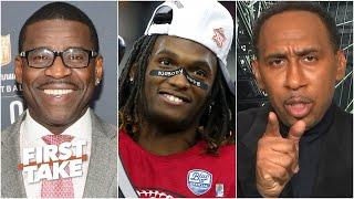 Stephen A. demands answers from Michael Irvin about CeeDee Lamb wearing No. 88 | First Take
