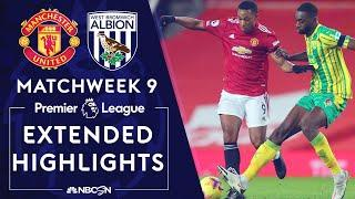 Manchester United v. West Brom   PREMIER LEAGUE HIGHLIGHTS   11/21/2020   NBC Sports
