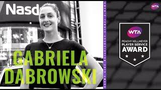 2019 Peachy Kellmeyer Player Service Award: Gabriela Dabrowski