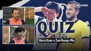 """""""You're welcome Sonny!"""" Harry Kane and Son Heung-Min quiz eachother about their partnership at Spurs"""
