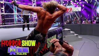 Ziggler crashes McIntyre through table: The Horror Show at WWE Extreme Rules (WWE Network Exclusive)