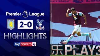 Trezeguet brace gives Villa lifeline for survival! | Aston Villa 2-0 Crystal Palace | EPL Highlights