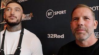 'I HAVE TO STOP YARDE & I'M CAPABLE OF IT' - DEC SPELMAN & CARL GREAVES / EXPLAINS 'YES MEN' COMMENT