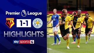 Dawson last-gasp bicycle kick rescues point for Watford! | Watford 1-1 Leicester | EPL Highlights