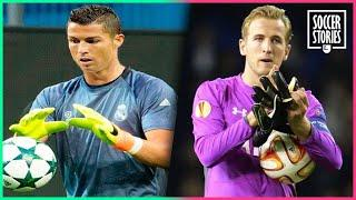 10 outfield players that had to play as goalkeepers | Oh My Goal