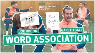 """""""Childish? That's an understatement!""""  Bale & Rodon banter each other in word association game!"""