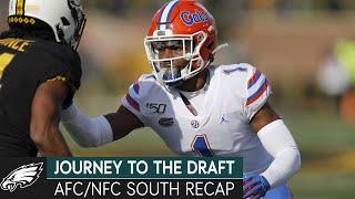 Andy Weidl's Scouting Philosophy & AFC/NFC South Draft Recaps | Journey to the Draft