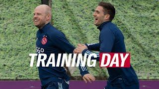 TRAINING DAY |  Big game ahead - Last session before our Europa League clash