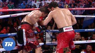 Sergio Martinez vs. Julio Cesar Chavez Jr. Round 12 | GREAT ROUNDS IN BOXING