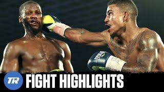 Donte Stubbs knocked down Fred Wilson Jr. twice with the same punch!   FULL FIGHT HIGHLIGHTS
