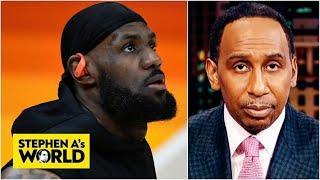Stephen A. Smith shows appreciation for LeBron James' greatness | Stephen A.'s World