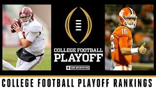 College Football Playoff Rankings: Top 5 unchanged | CBS Sports HQ