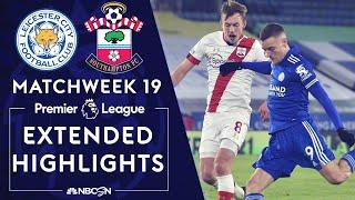 Leicester City v. Southampton | PREMIER LEAGUE HIGHLIGHTS | 1/16/2021 | NBC Sports