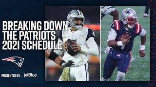 Analyzing the 2021 New England Patriots Schedule