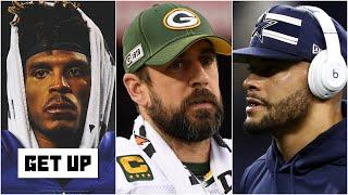 Cam Newton, Aaron Rodgers or Dak Prescott: Which QB has the most to prove this season? | Get Up