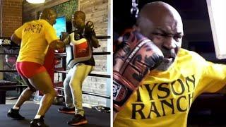 IS MIKE TYSON SPARRING?! - MIKE TYSON LOOKS FEROCIOUS IN NEW 'TYSON RANCH' PROMO VIDEO