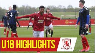 U18 Highlights | United 8-1 Middlesbrough | The Academy | Manchester United
